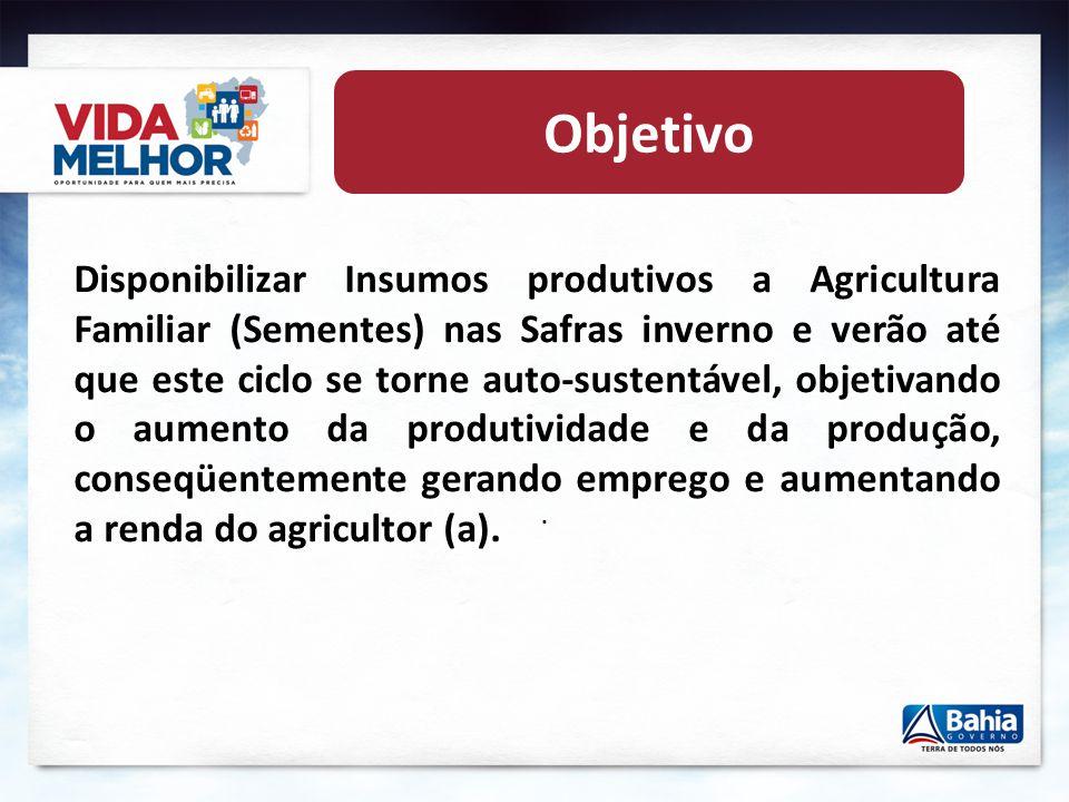 . Semeando Produção e Distribuição de Sementes a partir da Agricultura Familiar