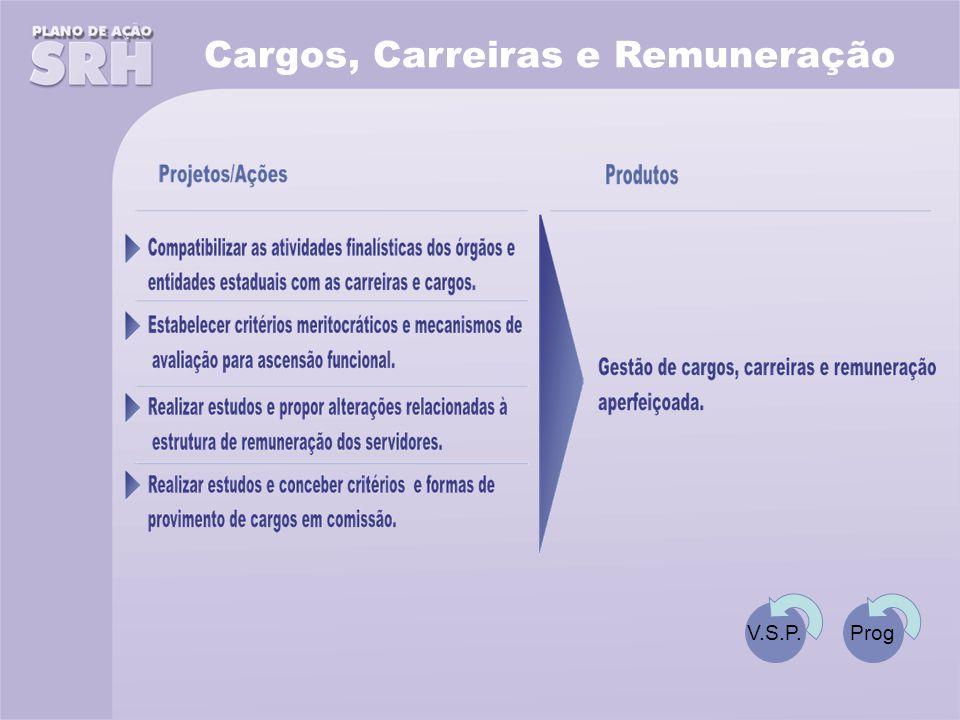 Cargos, Carreiras e Remuneração V.S.P.Prog