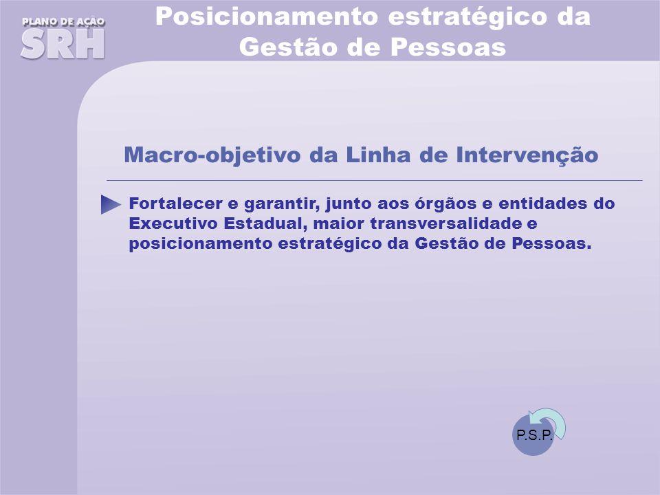 Fortalecer e garantir, junto aos órgãos e entidades do Executivo Estadual, maior transversalidade e posicionamento estratégico da Gestão de Pessoas.