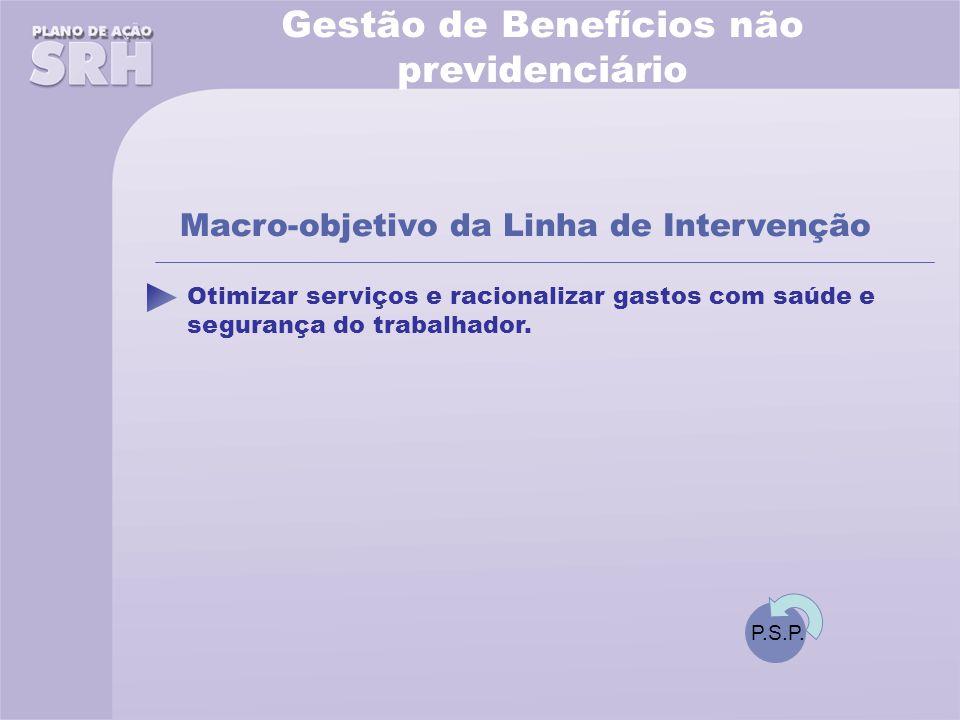 Otimizar serviços e racionalizar gastos com saúde e segurança do trabalhador.
