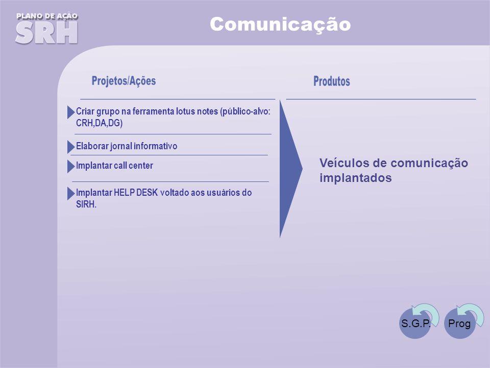 Comunicação S.G.P.