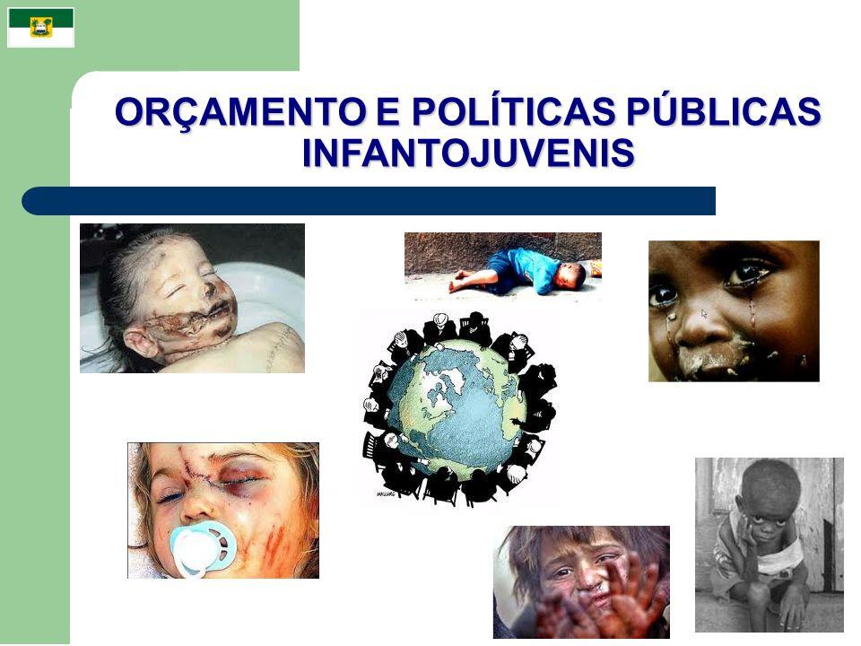 ORÇAMENTO E POLÍTICAS PÚBLICAS INFANTOJUVENIS