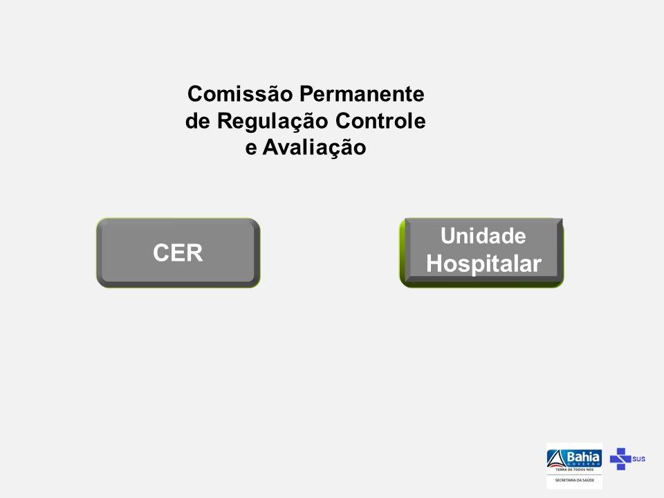 Art.º 53 - Compete as Comissões Ser a interface do hospital com a CER, garantindo fluxo contínuo da informação e das internações...