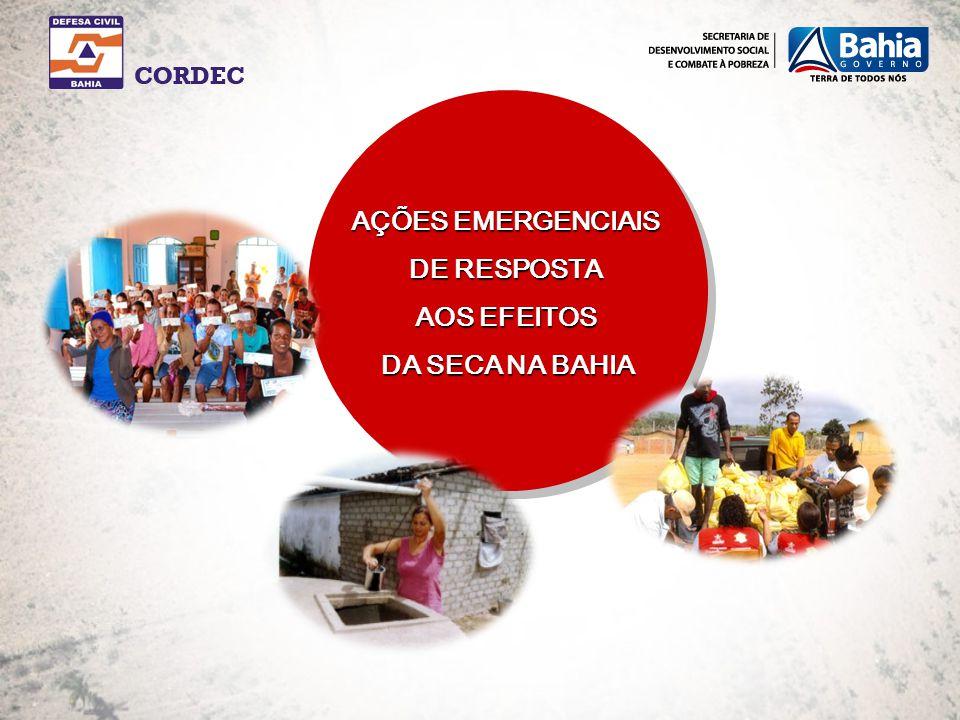 CESTAS DE ALIMENTOS: 139 mil cestas de alimentos distribuídas para 210 municípios, 139 mil famílias beneficiadas.