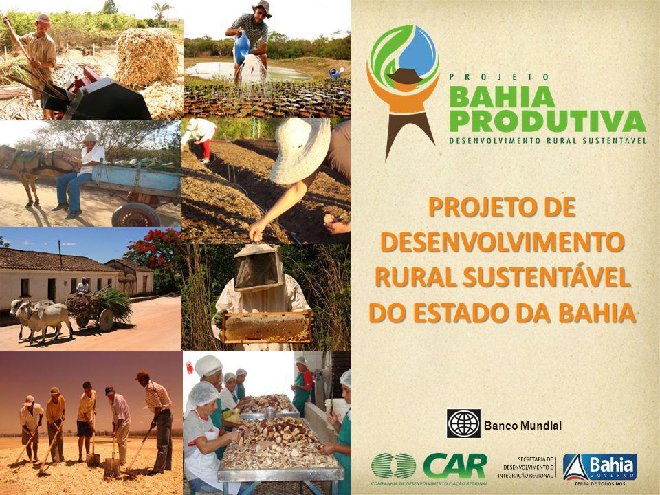 PROJETO DE DESENVOLVIMENTO RURAL SUSTENTÁVEL DO ESTADO DA BAHIA Banco Mundial