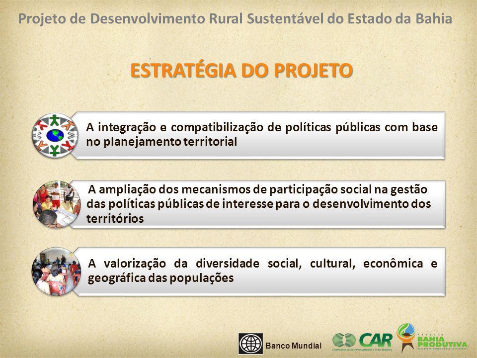 A integração e compatibilização de políticas públicas com base no planejamento territorial A valorização da diversidade social, cultural, econômica e