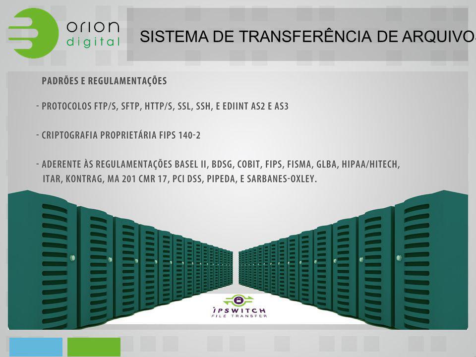 SISTEMA DE TRANSFERÊNCIA DE ARQUIVOS - HIPPA