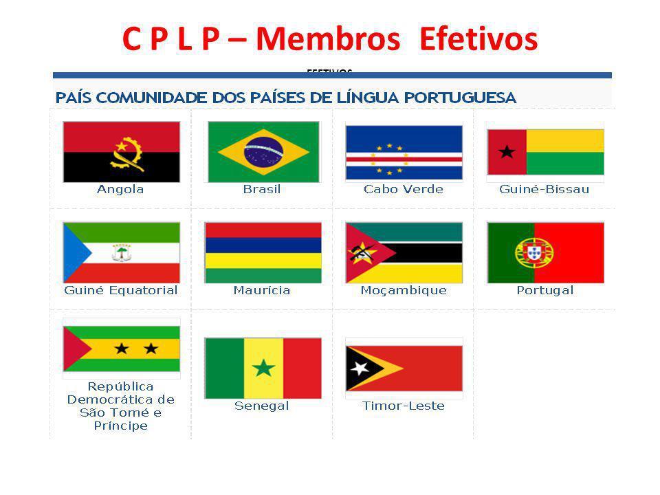 C P L P – Membros Efetivos EFETIVOS