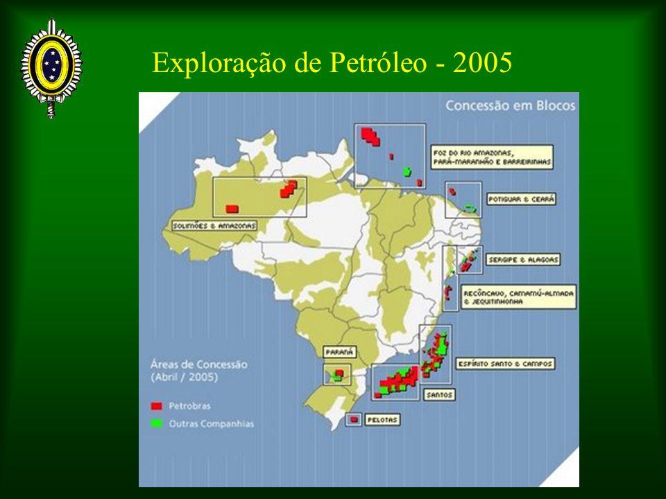 Exploração de Petróleo - 2005