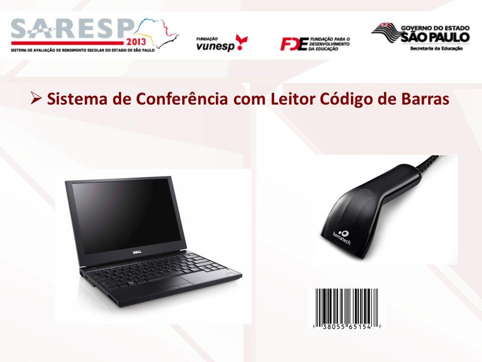 Sistema de Conferência com Leitor Código de Barras