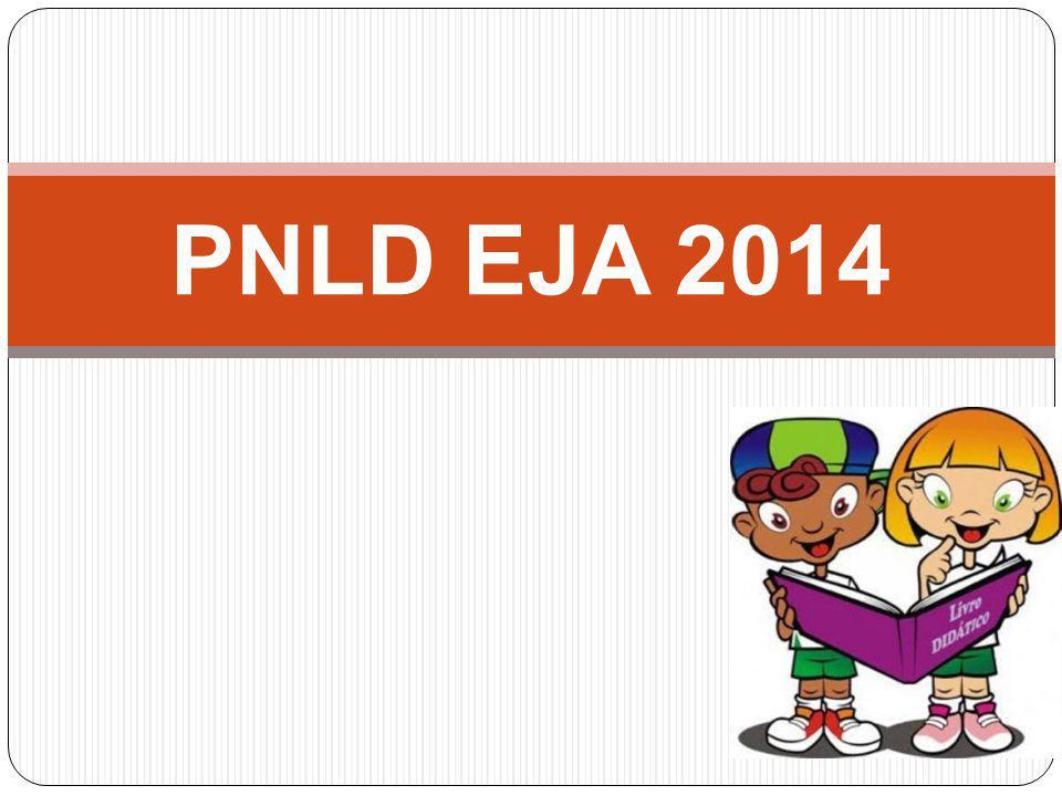 A Coleção indicada será distribuída a todos os alunos da EJA presencial, cadastrados no Censo Escolar, com base na projeção de matrículas para o ano letivo de 2014.