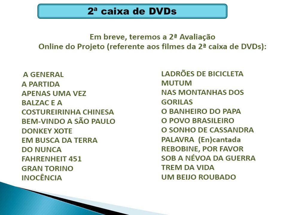 2ª caixa de DVDs