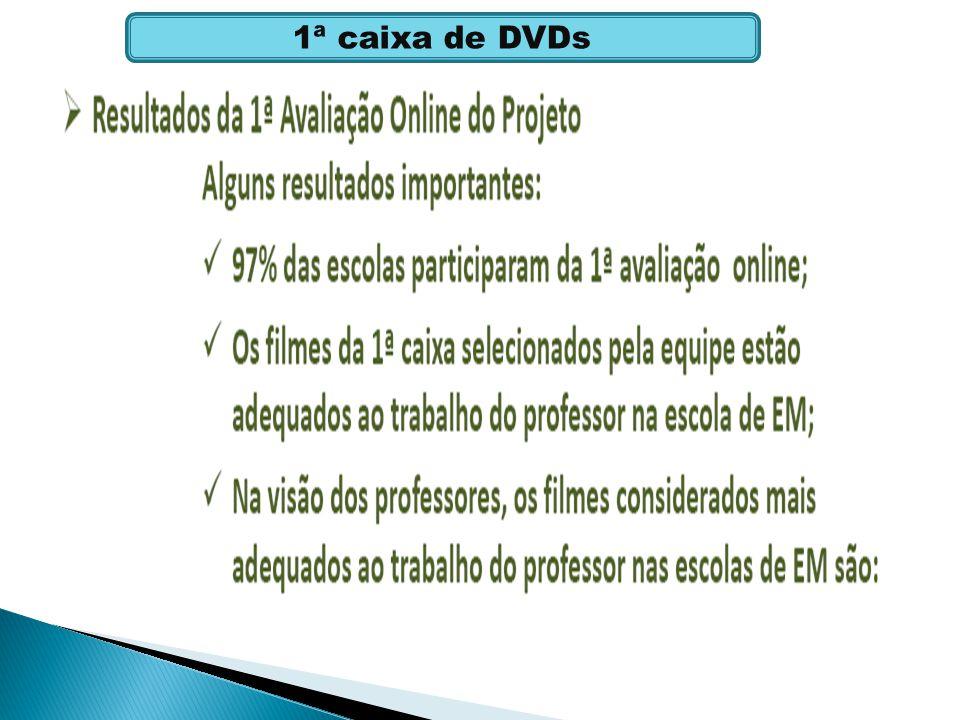 1ª caixa de DVDs