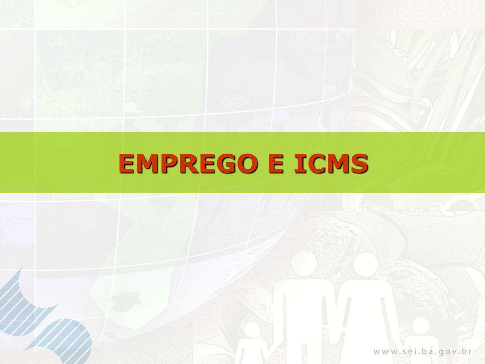 EMPREGO E ICMS