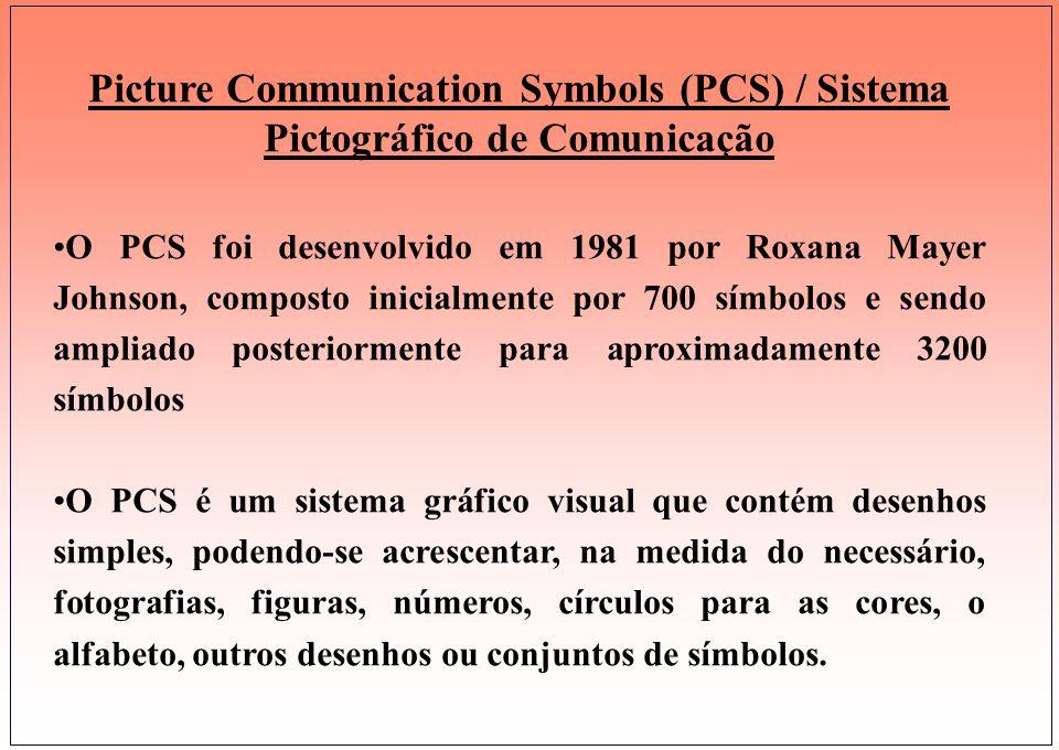PCS - SÍMBOLOS DE COMUNICAÇÃO POR IMAGENS PECS - SISTEMA DE COMUNICAÇÃO ATRAVÉS DE TROCA DE FIGURAS.