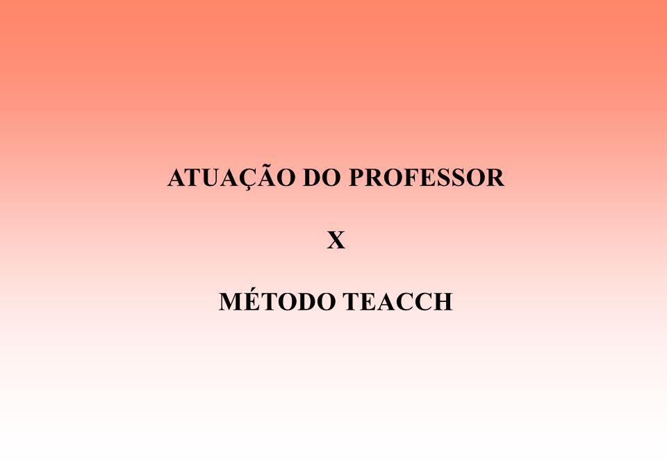 Tratamento Educacional Constante Atendimento Pedagógico através do método TEACCH Atendimento Interdisciplinar * Fonoaudiologia * Fisioterapia * Educaç