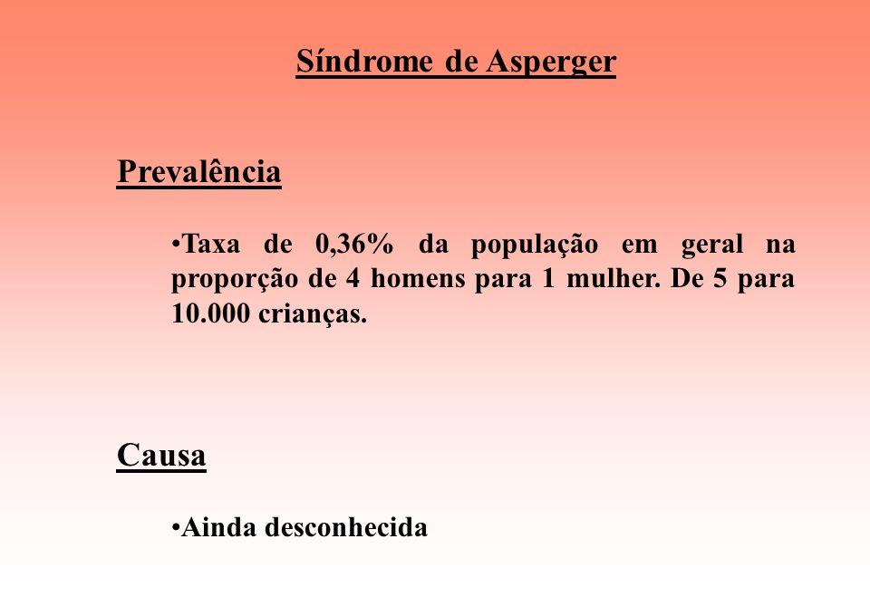 Síndrome de Asperger É um transtorno de múltiplas funções do psiquismo com afetação principal na área do relacionamento interpessoal e no da comunicaç