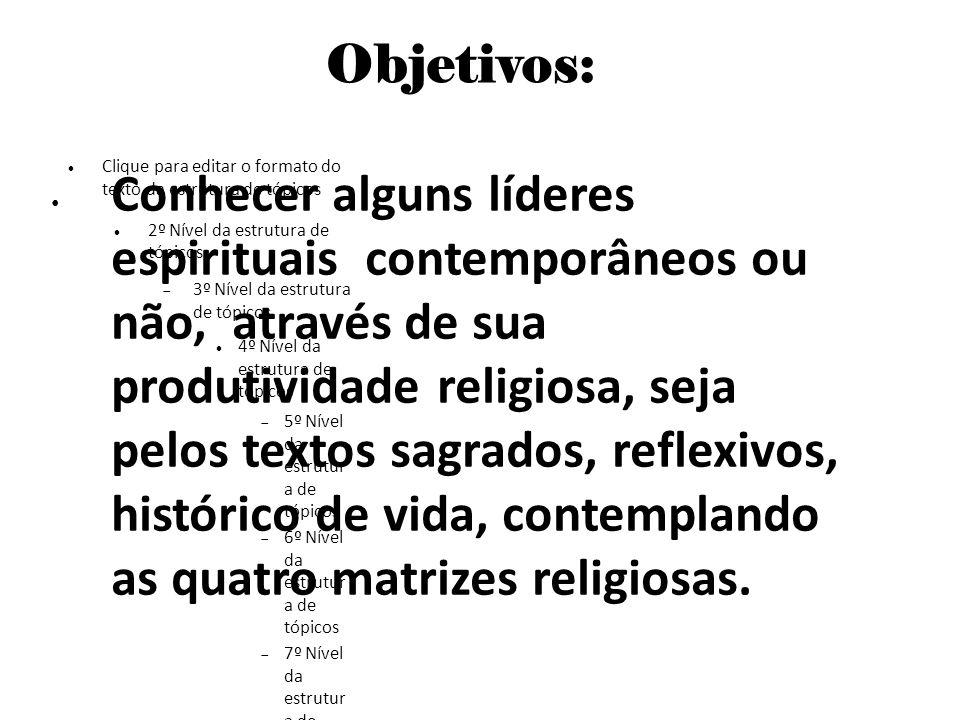 Clique para editar o formato do texto da estrutura de tópicos 2º Nível da estrutura de tópicos 3º Nível da estrutura de tópicos 4º Nível da estrutura