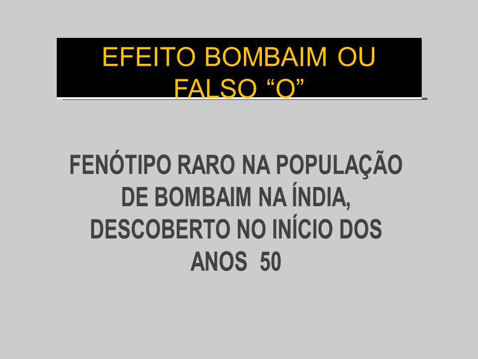 EFEITO BOMBAIM OU FALSO O