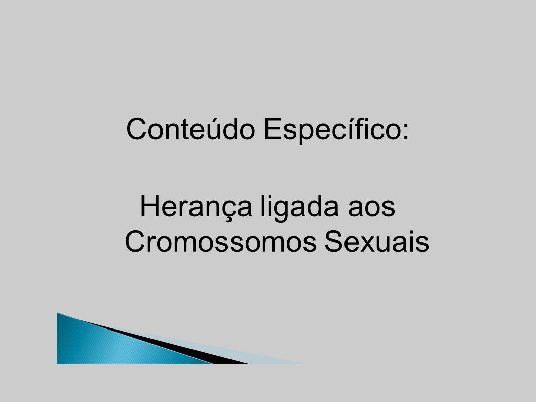 Conteúdo Específico: Herança ligada aos Cromossomos Sexuais