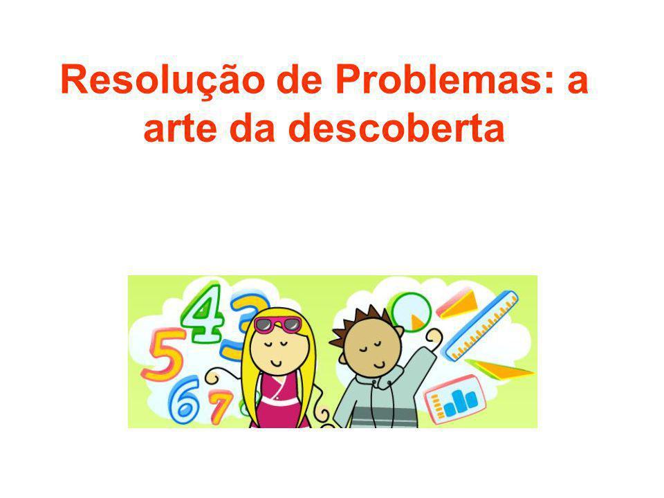 Tipos de Problemas Problemas processo ou aberto A solução envolve operações que não estão no enunciado; não podem ser traduzidos diretamente pela linguagem matemática, nem resolvidos pela aplicação automática de algoritmos; desenvolve a curiosidade, a criatividade.