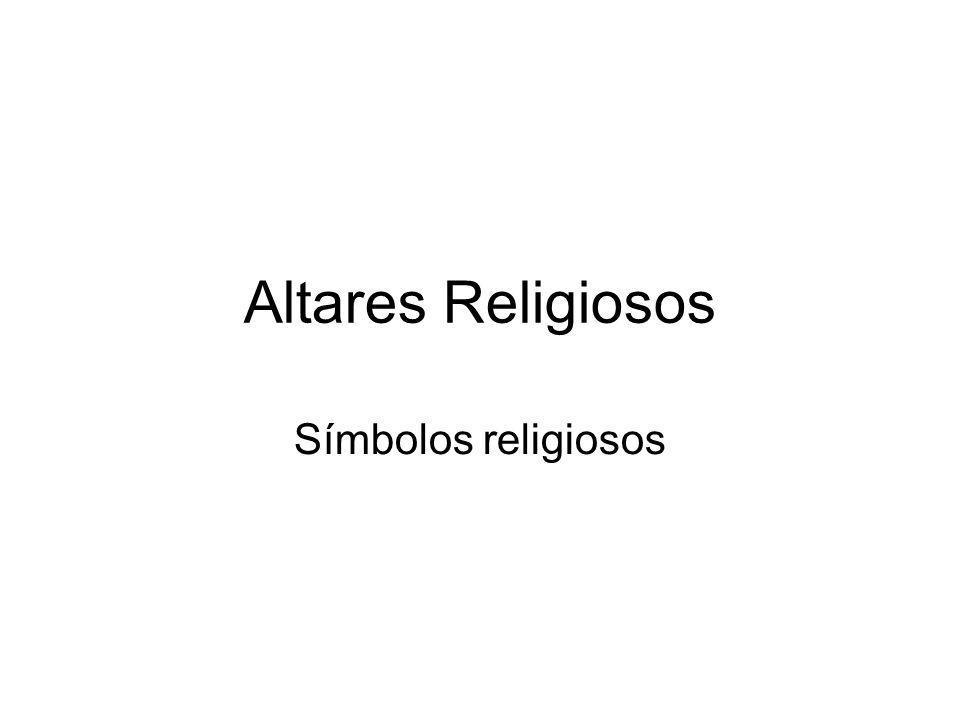 Altares Religiosos Símbolos religiosos