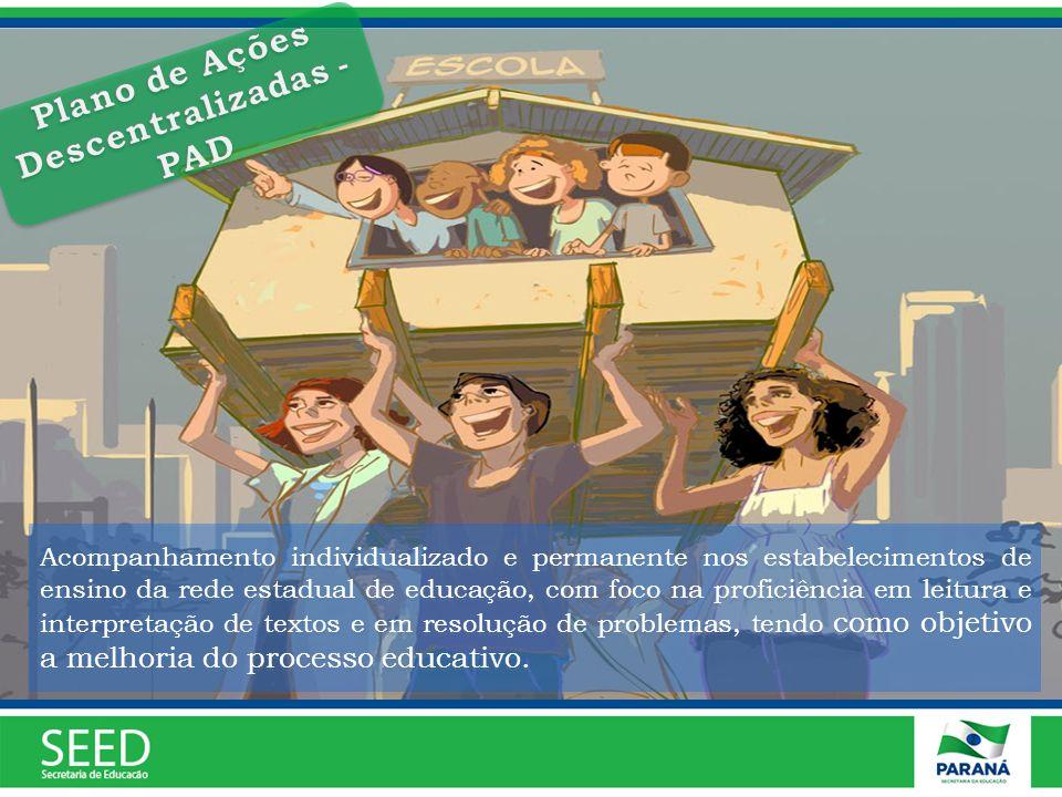 Acompanhamento individualizado e permanente nos estabelecimentos de ensino da rede estadual de educação, com foco na proficiência em leitura e interpr