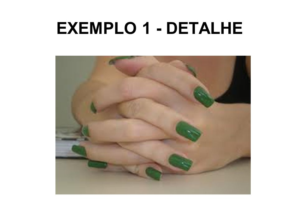 EXEMPLO 1 - DETALHE