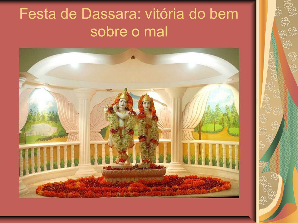 Festa de Dassara: vitória do bem sobre o mal
