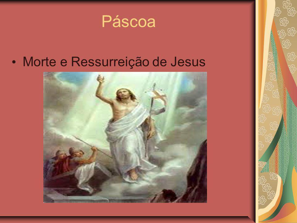 Páscoa Morte e Ressurreição de Jesus
