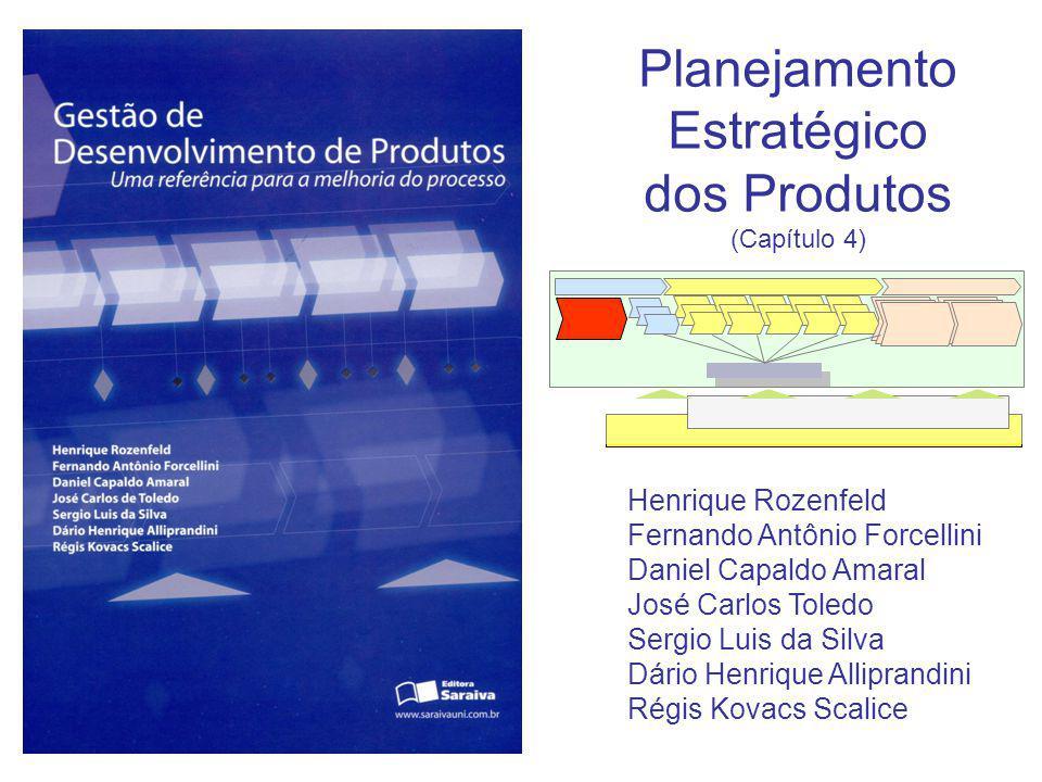 Planejamento Estratégico dos Produtos (Capítulo 4) Henrique Rozenfeld Fernando Antônio Forcellini Daniel Capaldo Amaral José Carlos Toledo Sergio Luis