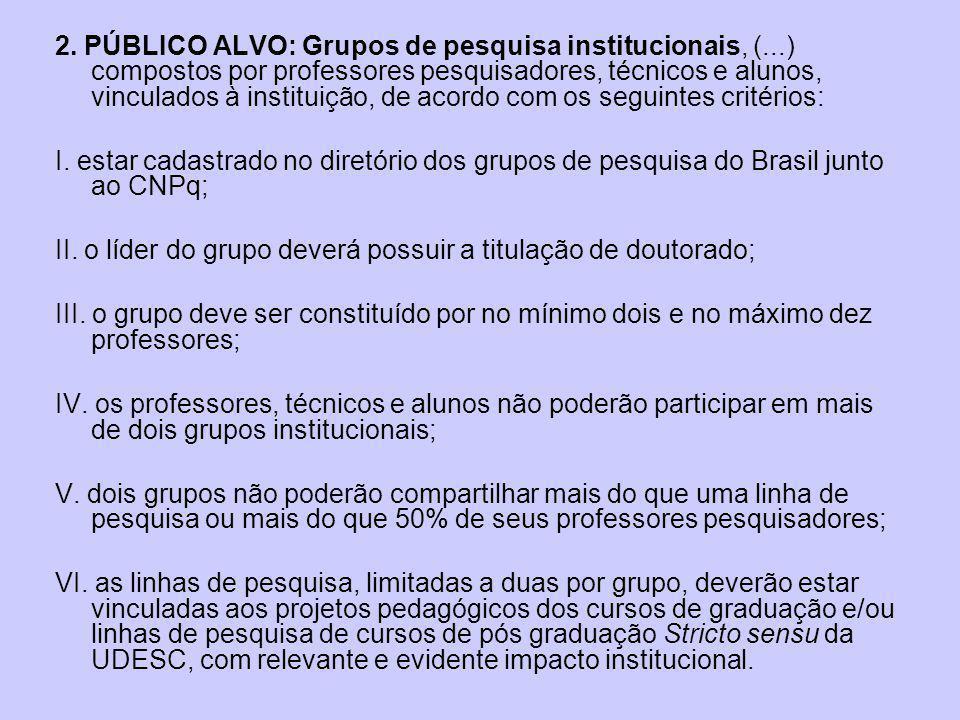 3.VALOR DO FINANCIAMENTO 3.1.