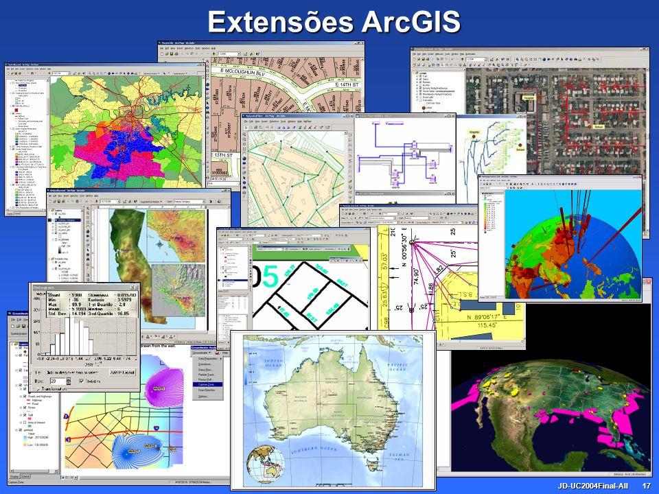 JD-UC2004Final-All17 Extensões ArcGIS