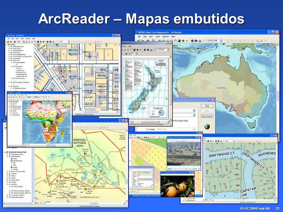 JD-UC2004Final-All23 ArcReader – Mapas embutidos