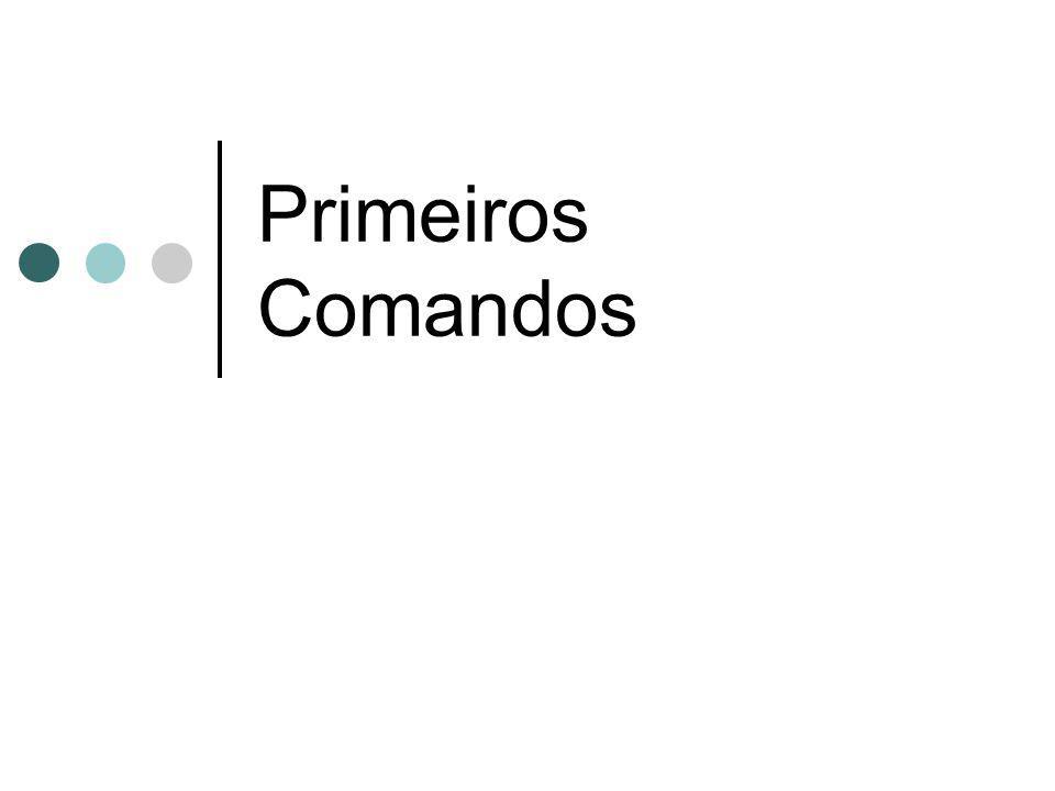 Primeiros Comandos