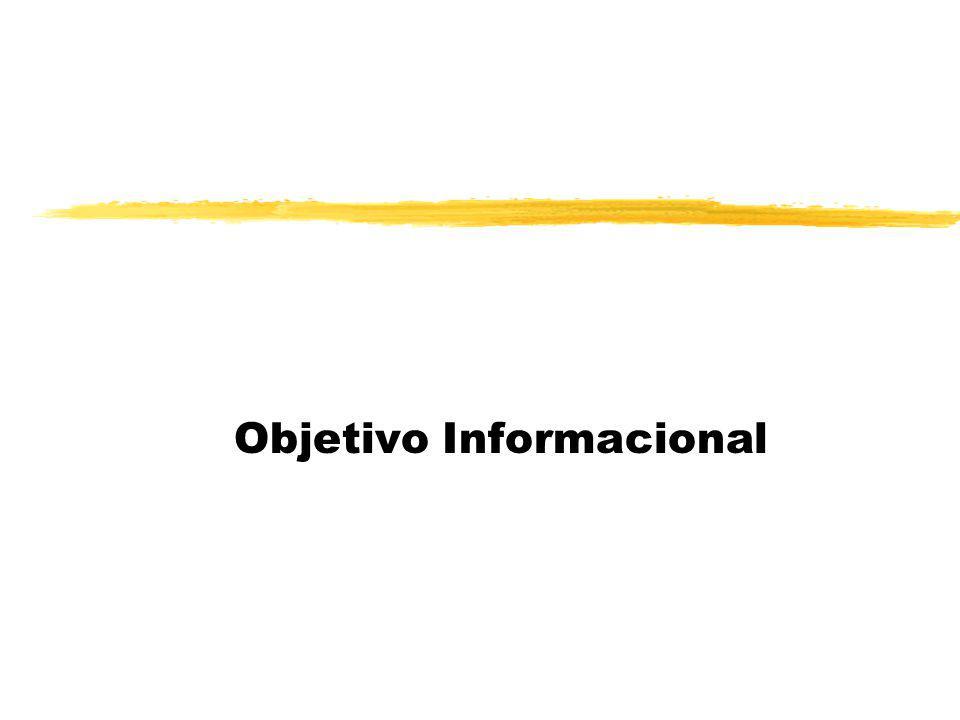 Objetivo Informacional