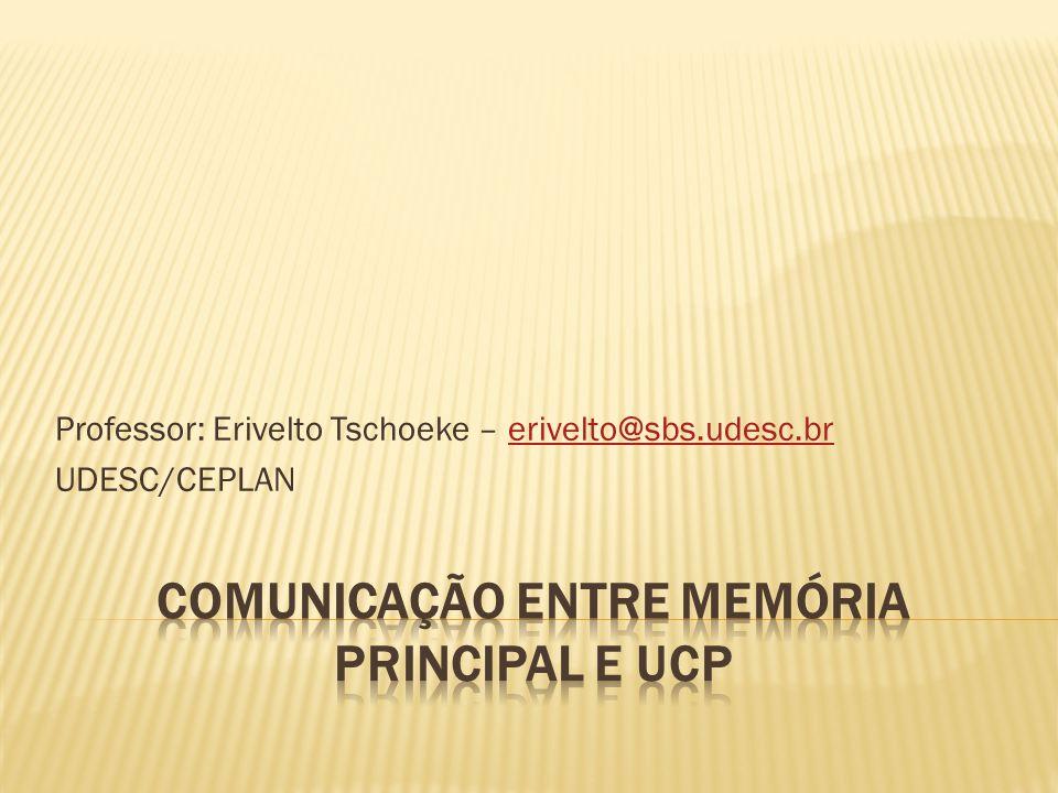 Professor: Erivelto Tschoeke – erivelto@sbs.udesc.brerivelto@sbs.udesc.br UDESC/CEPLAN