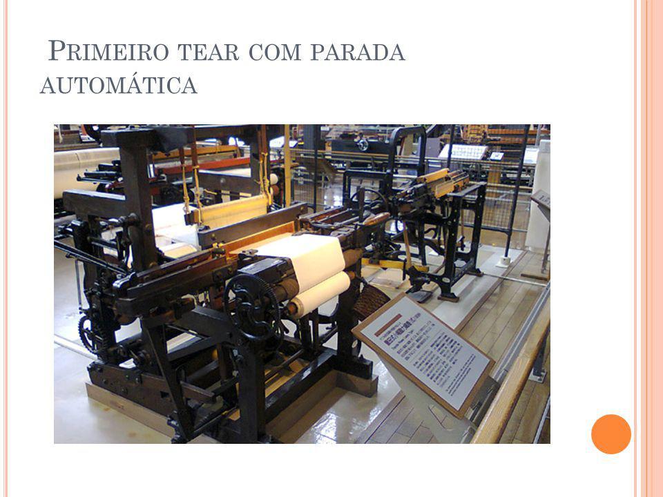 P RIMEIRO TEAR COM PARADA AUTOMÁTICA