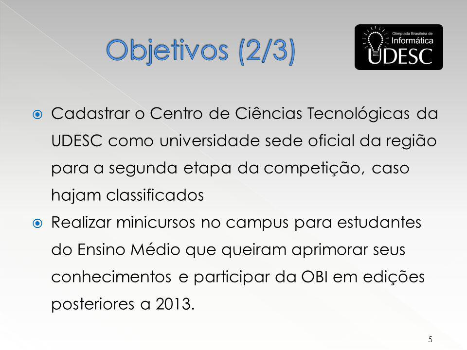 Os melhores colocados são convidados para uma semana de cursos na UNICAMP, quando também é realizada uma seleção para escolher os integrantes da equipe brasileira na IOI (International Olympiad in Informatics) - evento com a participação de mais de 70 países.