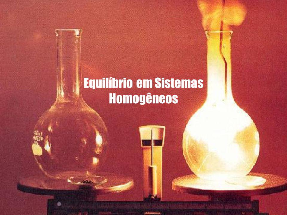 Equilíbrio em Sistemas Homogêneos