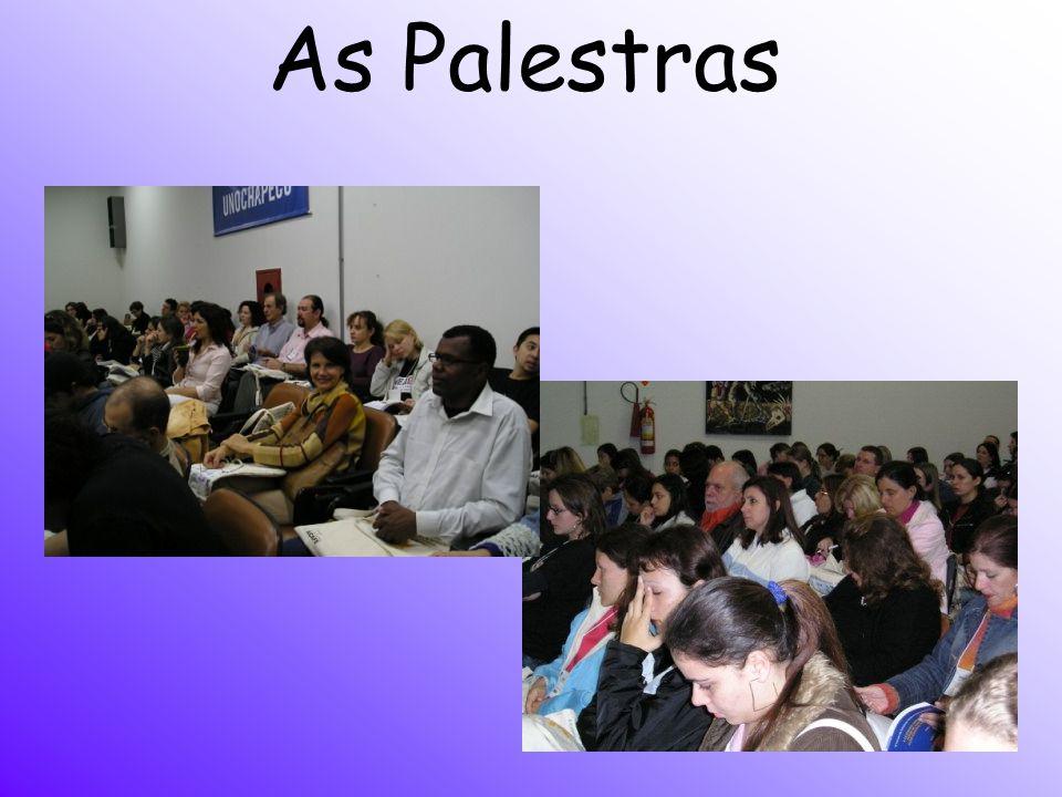 As Palestras