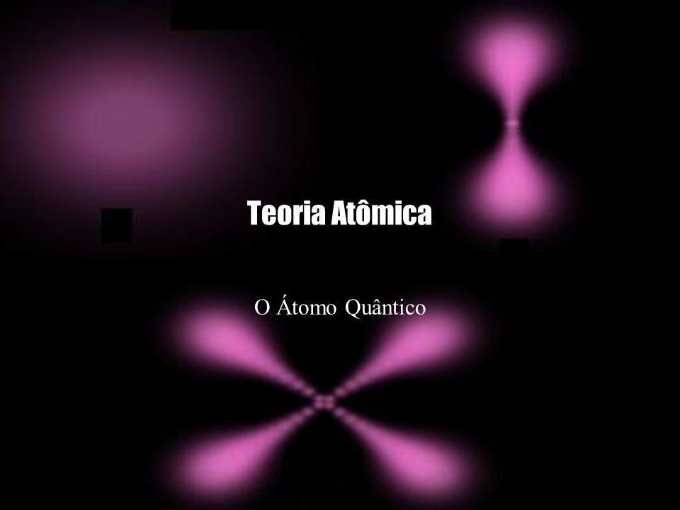 Teoria Atômica O Átomo Quântico