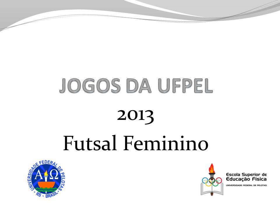 2013 Futsal Feminino