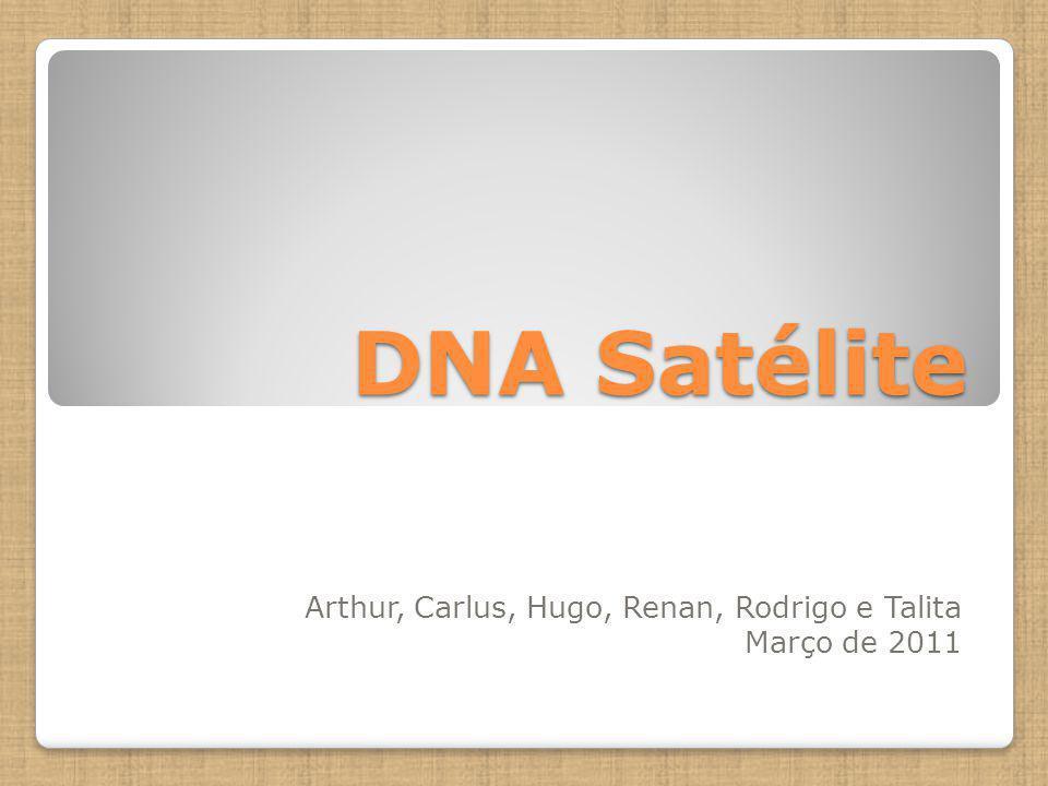 DNA Satélite Arthur, Carlus, Hugo, Renan, Rodrigo e Talita Março de 2011