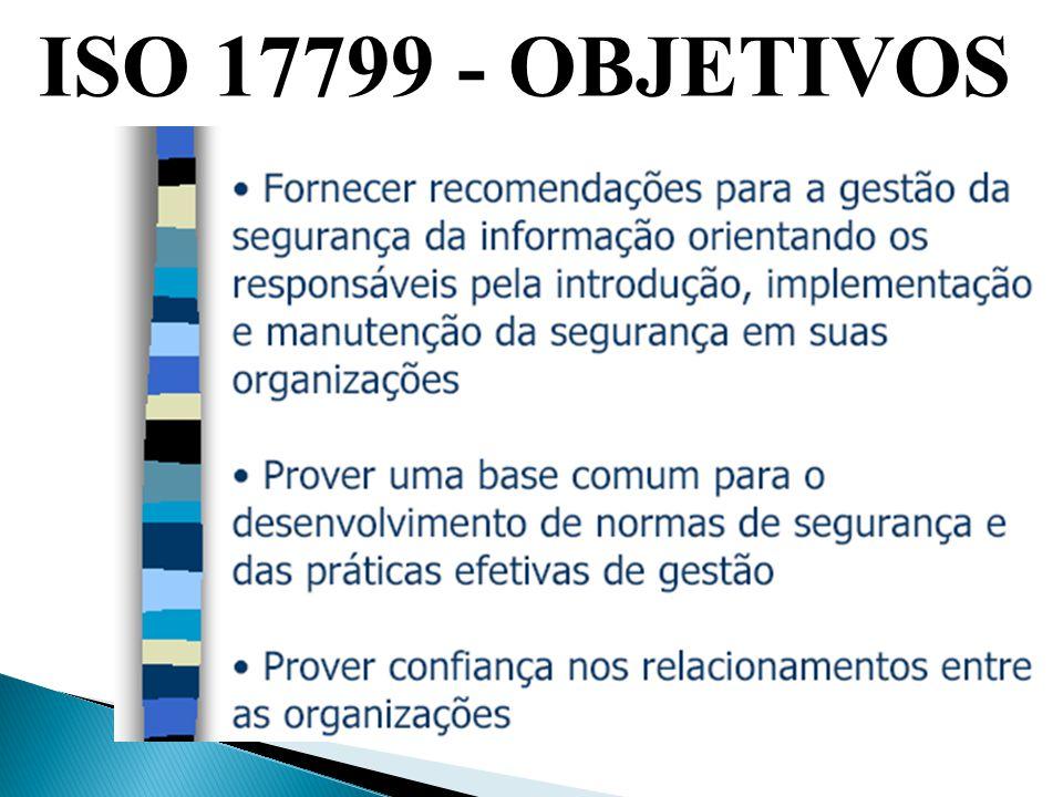 ISO 17799 - OBJETIVOS