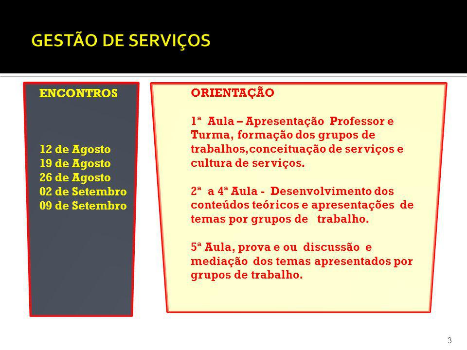 FONTE: DILSON FRANCISCO, trabalhos profissionais, 2013 44 GESTÃO DA QUALIDADE EM SERVIÇOS FATORES NA FORMAÇÃO DAS PERCEPÇÕES DE DESEMPENHO PELO CLIENTE - MODELO DOS 5 GAPS GAP 1 CAUSA FALHA NO ENTENDIMENTO – PERCEPÇÃO GERENCIAL CORREÇÃO - PREVENÇÃO Foco no Cliente Pesquisa Foco na Qualidade Comunicação formal Comunicação informal Menor distancia:Gestor-Back office Desenvolvimento da Cultura de Serviço