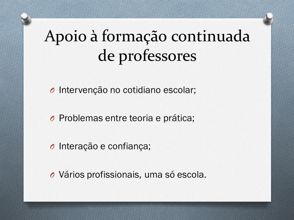Vários profissionais, uma só escola O De acordo com Belintani (2004) há no imaginário docente brasileiro a ideia de que surgirá uma nova teoria, ou conjunto de teorias, capazes de dar conta de todos os problemas educacionais.