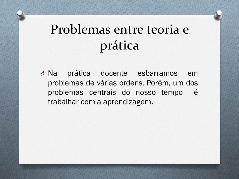 Problemas entre teoria e prática O Se fazer entender é um grande desafio.