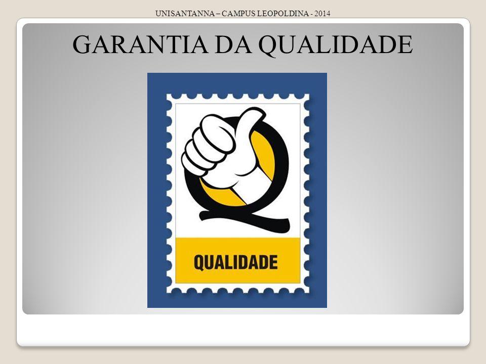 UNISANTANNA – CAMPUS LEOPOLDINA - 2014 GARANTIA DA QUALIDADE