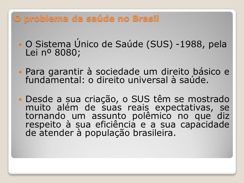 O desafio do futuro presidente é tornar este sistema mais saudável, o Brasil precisaria ao menos dobrar os recursos destinados ao setor.